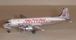 1:400 Herpa Cathay Pacific Douglas DC-4 VR-HFF
