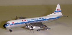 1:400 Aeroclassics TAA Trans Australia Airlines Lockheed L-188 Electra VH-TLA ACVHTLA