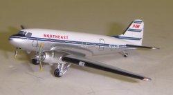 1:400 Aeroclassics Northeast Airlines Douglas DC-3 N45362