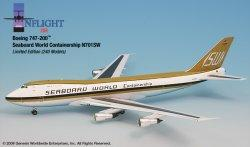 1:200 Inflight200 Seaboard World Boeing B 747-200 N701SW