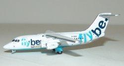 1:400 Gemini Jets FlyBe British Aerospace Company BAe 146-200 G-JEAK