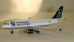 1:400 Gemini Jets Mexicana Airbus Industries A319-100 N750MX