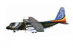 1:200 Hogan Belgian Air Force Lockheed Martin C-130 Hercules CH-05