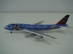 1:400 Magic JAL Japan Airlines Boeing B 747-400 JA8905