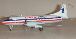 1:200 Herpa American Inter-Island Convair CV-440 N44826