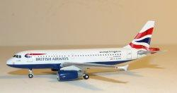 1:400 Gemini Jets British Airways Airbus Industries A319-100 G-EUPA