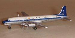 1:500 Herpa Sabena Douglas DC-6 OO-CTK