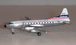 1:400 Aeroclassics Continental Airlines Convair CV-440 N90862