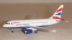 1:500 Herpa British Airways Airbus Industries A318-100 G-EUNA