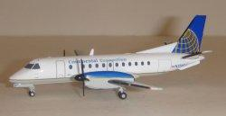 1:200 Herpa Continental Connection / Colgan Air Saab 340 N356CJ