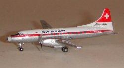 1:500 Herpa Swissair Convair CV-440 HB-IMG