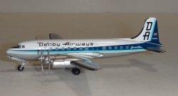 1:400 Aeroclassics Derby Airways Canadair C-4-1 Argonaut G-ALHS ACGALHS