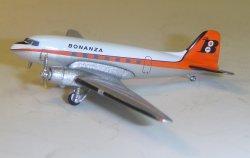 1:400 Aeroclassics Bonanza Air Lines Douglas DC-3 N498