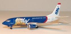 1:400 Phoenix Models SkyEurope Airlines Boeing B 737-500 OM-SEA