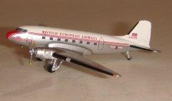 1:400 Aeroclassics BEA Douglas DC-3 G-ALXN