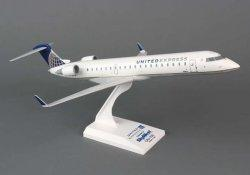1:100 Risesoon / Skymarks United Express / Skywest Airlines Bombardier CRJ700 NA
