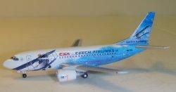 1:400 Herpa CSA Czech Airlines Boeing B 737-500 OK-DGL 560979