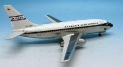 1:200 Inflight200 Avianca Colombia Boeing B 737-100 HK-1403