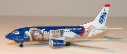 1:400 Phoenix Models SkyEurope Airlines Boeing B 737-500 HA-LKO