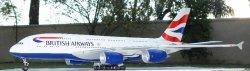1:100 Risesoon / Skymarks British Airways Airbus Industries A380-800 G-XLEA
