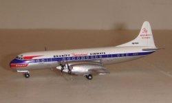 1:400 Aeroclassics Braniff International Lockheed L-188 Electra N9702C AC18304