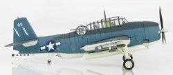 1:72 Hobby Master United States Navy Grumman TBF Avenger White 86