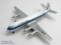 1:144 Corgi Classics Ltd. United Airlines Vickers Viscount N7440