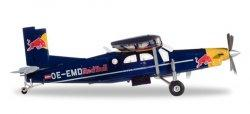 1:72 Herpa Red Bull Pilatus PC-6 OE-EMD