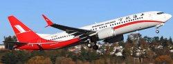 1:200 JC Wings Shanghai Airlines Boeing B 737-8MAX B-1382