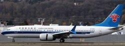 1:200 JC Wings China Southern Airlines Boeing B 737-8MAX B-1201