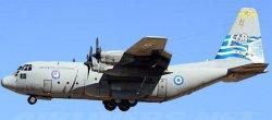 1:200 Inflight200 Hellenic Air Force Lockheed C-130 Hercules 745 JF-C130-013