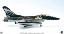 1:72 JC Wings Italian Air Force General Dynamics F-16 MM 7251