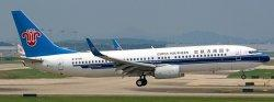 1:400 JC Wings China Southern Airlines Boeing B 737-800 B-5738