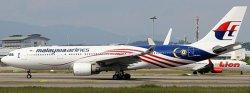 1:200 JC Wings Malaysia Airbus Industries A330-200 9M-MTX