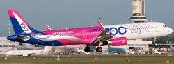 1:400 JC Wings Wizz Air Airbus Industries A321-200 HA-LTD