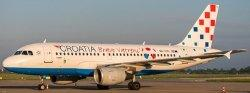 1:200 JC Wings Croatia Airlines Airbus Industries A319-100 9A-CTL