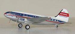 1:400 Aeroclassics National Airlines Curtiss C-46 N1661M