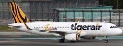 1:200 JC Wings Tigerair Taiwan Airbus Industries A320-200 B-50016