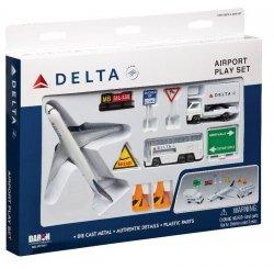 1:400 Realtoy Delta Air Lines Boeing B 777 Playset