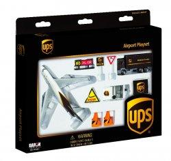 1:400 Realtoy United Parcel Service Boeing B 747 Playset