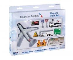 1:400 Realtoy American Airlines Boeing B 767 Playset