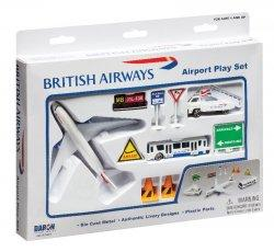 1:400 Realtoy British Airways Boeing B 787 Playset