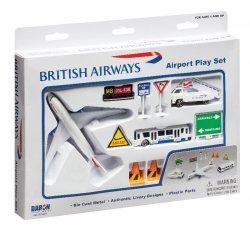 1:400 Realtoy British Airways Boeing B 787 Playset