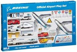 1:400 Realtoy Boeing Aircraft Company Boeing B 747 Playset