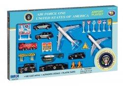 1:400 Realtoy United States Air Force Boeing B 747 Playset