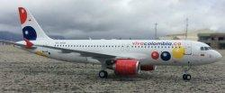 1:200 Inflight200 Viva Colombia Airbus Industries A320-200 HK-4818