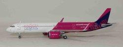 1:400 JC Wings Wizz Air Abu Dhabi Airbus Industries A321-200 A6-WXB