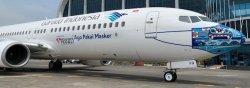 1:200 JC Wings Garuda Indonesia Boeing B 737-800 PK-GFQ LH2257