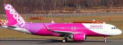 1:200 JC Wings Peach Airbus Industries A320-200 JA201P