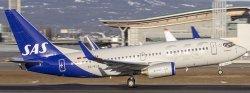 1:200 JC Wings SAS Scandinavian Airlines Boeing B 737-700 SE-RJX